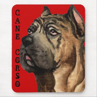 Cane Corso Color Block Mouse Pad