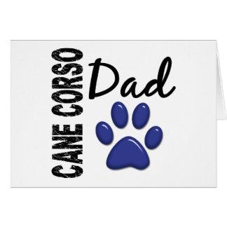 Cane Corso Dad 2 Greeting Card