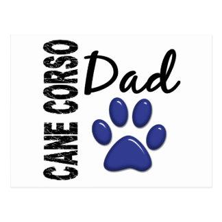 Cane Corso Dad 2 Postcard