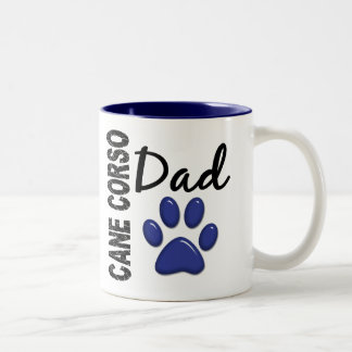 Cane Corso Dad 2 Two-Tone Coffee Mug