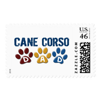 CANE CORSO Dad Paw Print 1 Stamps