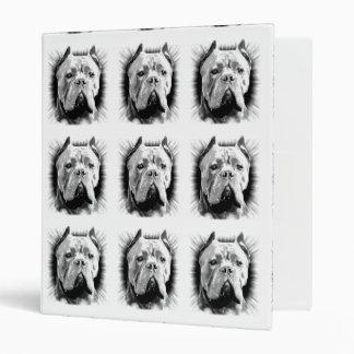 Cane Corso Dog 3 Ring Binder