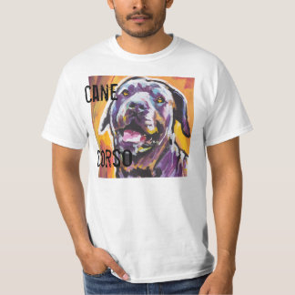 Cane Corso Dog Bright Pop Art T shirt