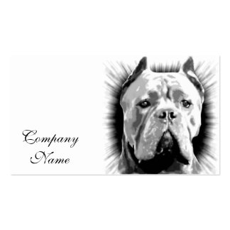 Cane Corso Dog Double-Sided Standard Business Cards (Pack Of 100)