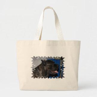 Cane Corso Dog Canvas Bag
