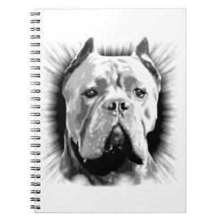 Cane Corso Dog Notebook