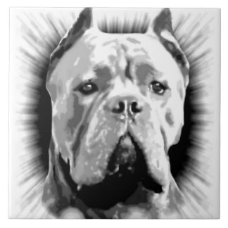 Cane Corso Dog Ceramic Tile