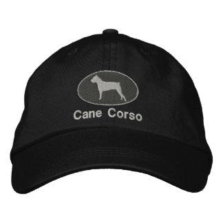 Cane Corso Embroidered Hat (Dark)