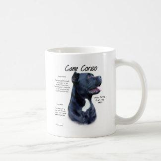 Cane Corso History Design Classic White Coffee Mug