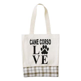 Cane Corso Love Zazzle HEART Tote Bag