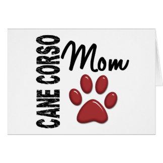 Cane Corso Mom 2 Greeting Card