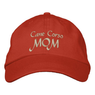 Cane Corso Mom Gifts Embroidered Baseball Cap