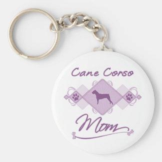 Cane Corso Mom Keychain
