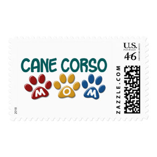 CANE CORSO Mom Paw Print 1 Stamps