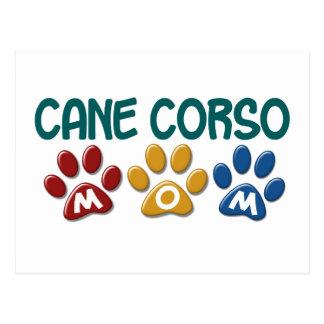 CANE CORSO Mom Paw Print 1 Postcard