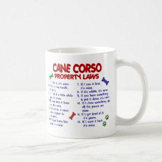 CANE CORSO PL2 CLASSIC WHITE COFFEE MUG