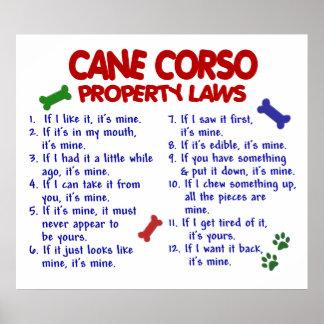 CANE CORSO PL2 POSTER