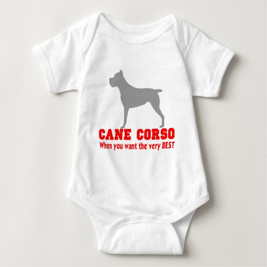 CANE CORSO THE VERY BEST BABY BODYSUIT