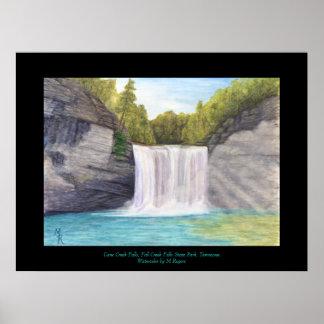 Cane Creek Falls - Fall Creek Falls State Park Poster