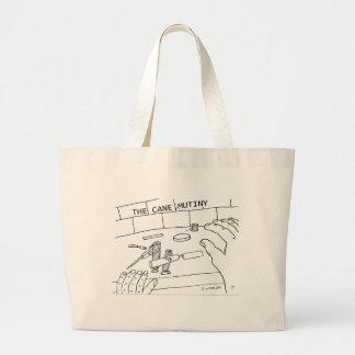 Cane Mutiny Large Tote Bag