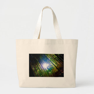 Cane Patch with Sunshine Large Tote Bag