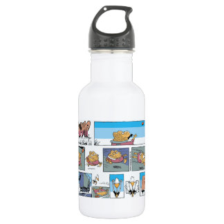 Cane Toad Footy Try Stainless Steel Water Bottle