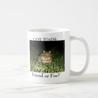 Cane Toad Mug White