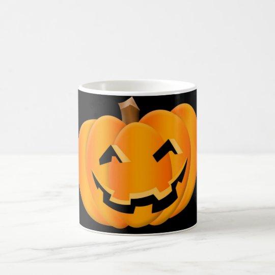 caneca halloween taza mágica