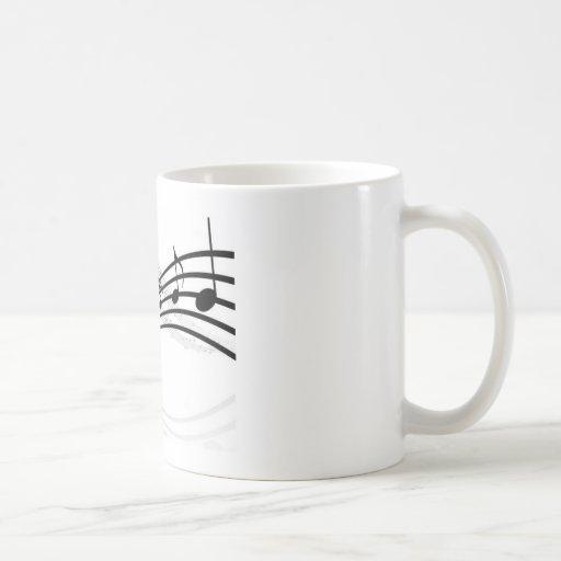 caneca musicas taza clásica