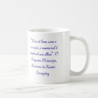 Canece - the small prince classic white coffee mug