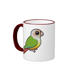 Canela Conure Verde-cheeked de Birdorable Tazas