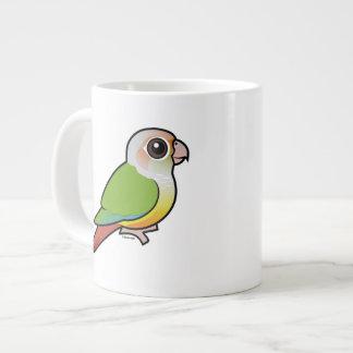 Canela Conure Verde-cheeked de Birdorable Tazas Extra Grande