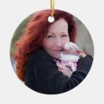 Canela y ornamento de Rosie Adornos De Navidad
