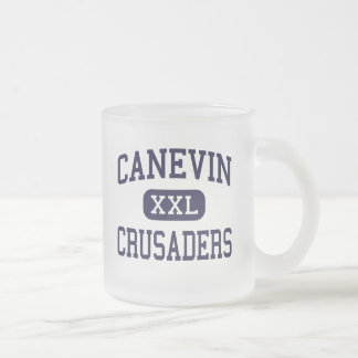 Canevin - Crusaders - Catholic - Pittsburgh Frosted Glass Coffee Mug
