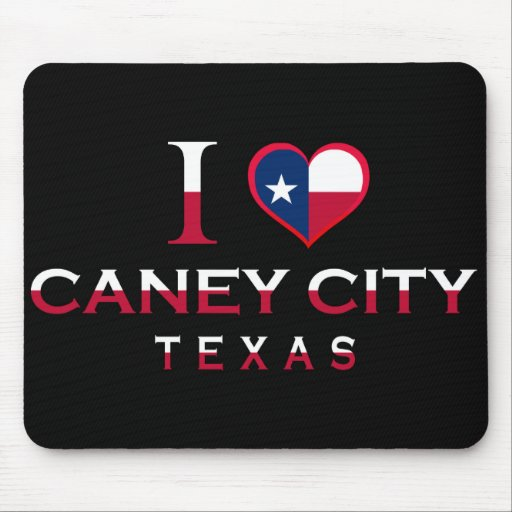 Caney City, Texas Mouse Pad