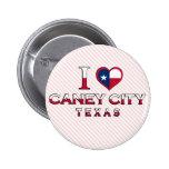 Caney City, Texas Pin