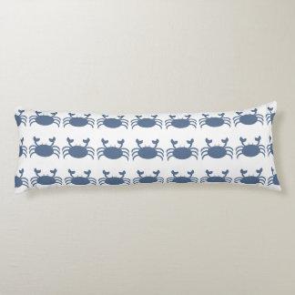 Cangrejo azul almohada