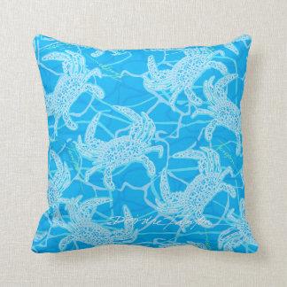 Cangrejo azul de Maryland Cojín