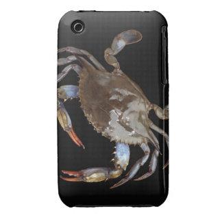 Cangrejo azul iPhone 3 protector
