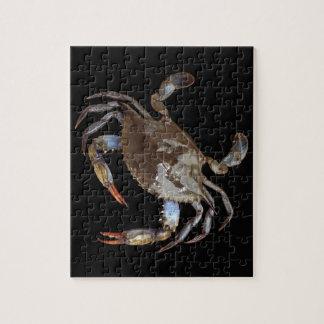 Cangrejo azul puzzle con fotos