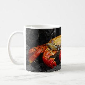 Cangrejo colorido tazas de café