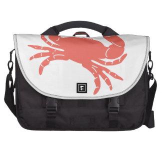 Cangrejo coralino bolsas de ordenador