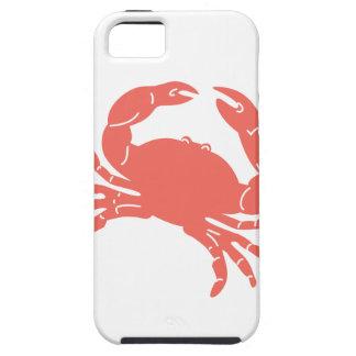 Cangrejo coralino iPhone 5 funda