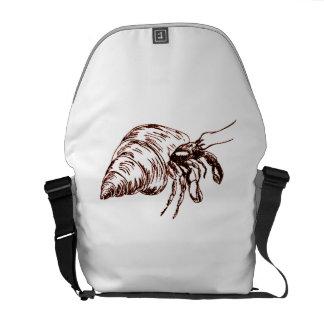 Cangrejo de ermitaño bolsa de mensajeria
