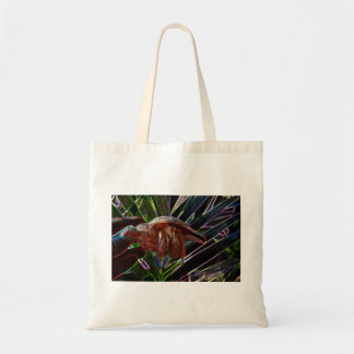 cangrejo de ermitaño fuera de la chispa de la bolsas lienzo