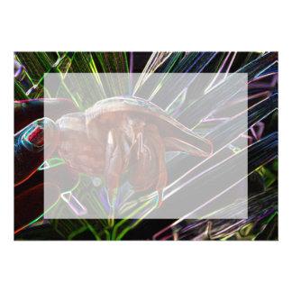 cangrejo de ermitaño fuera de la chispa de la cásc comunicado
