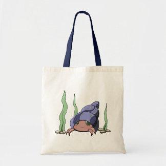 Cangrejo de ermitaño lindo bolsas