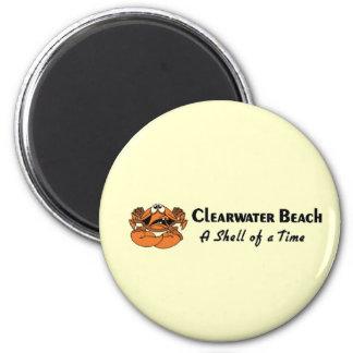 Cangrejo de la playa de Clearwater Iman Para Frigorífico