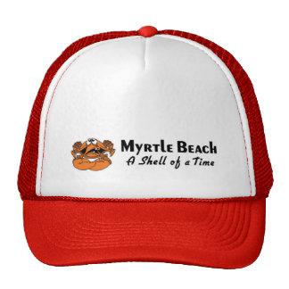 Cangrejo de Myrtle Beach Gorro De Camionero