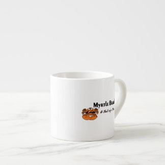 Cangrejo de Myrtle Beach Taza Espresso